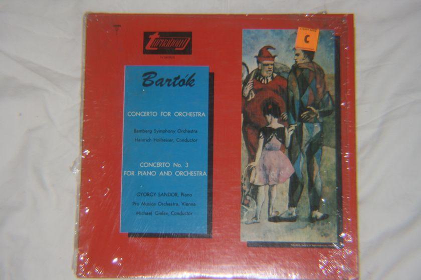 Bartok - Concerto For Orchestra & Concerto No. 3 For Piano And Orchestra TV 34082S