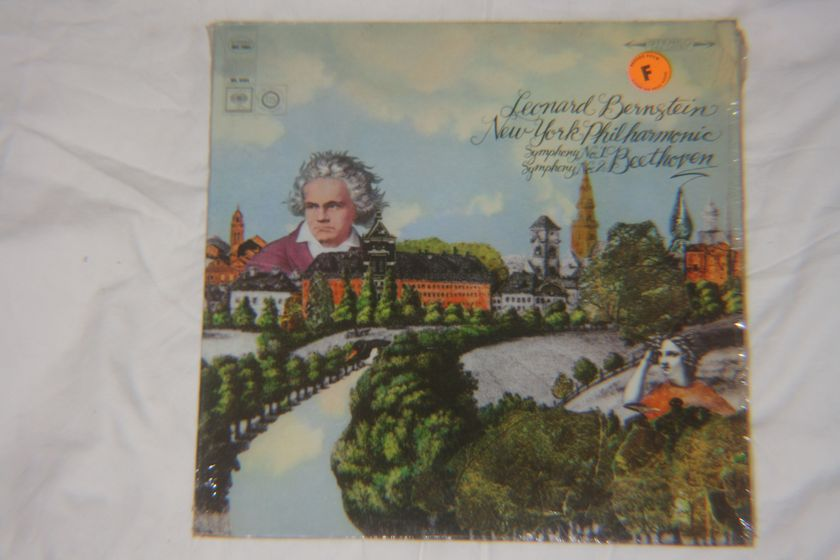 Leonard Bernstein - Beethoven Symphony No. 1 & Symphony No. 2 MS 7084