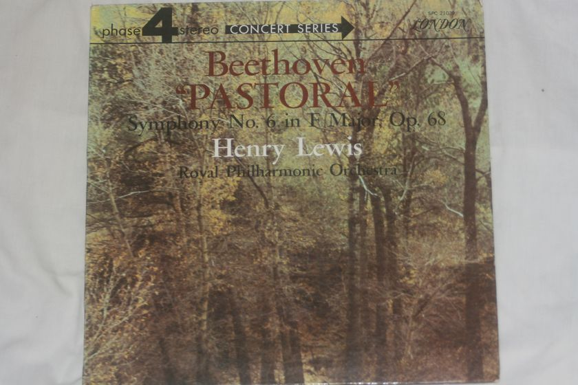 Henry Lewis - Beethoven Pastoral  Symphony No. 6 Op. 68  London SPC 21039