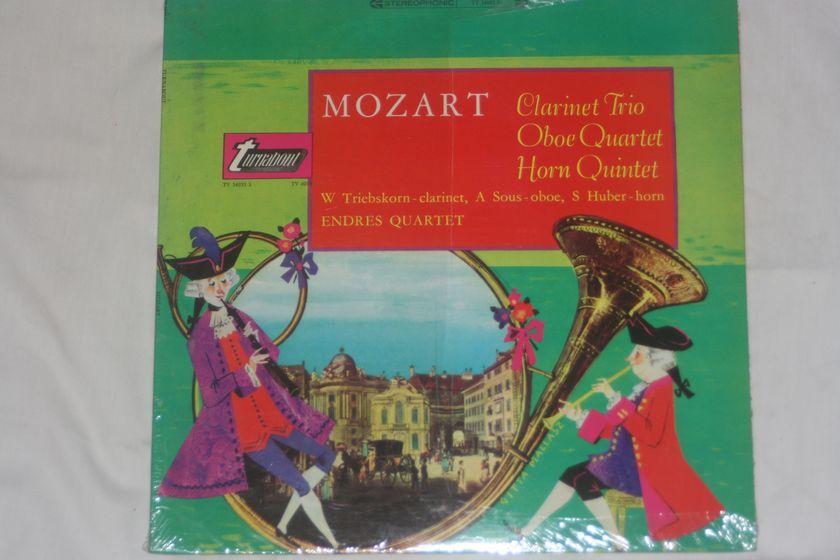 Endres Quartet - Mozart: Clarinet Trio/Oboe Quartet/Horn Quartet TV 34035 S