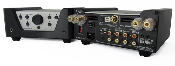 Wyred 4 Sound MINT 100wpc integrated amp w/DAC
