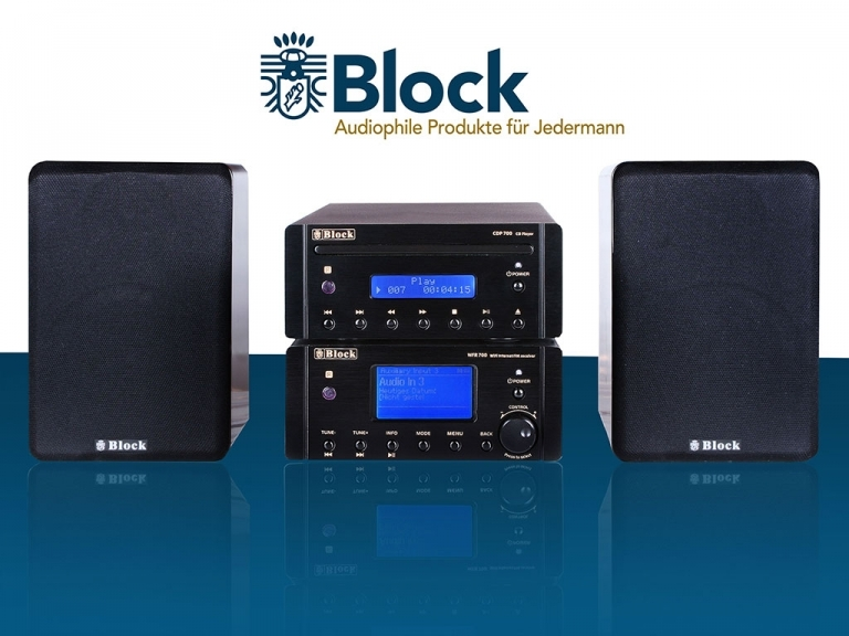 AUDIOBLOCK GERMANY MHF-700L AMP, FM, CD PLAYER, PC STREAMER, INTERNET RADIO