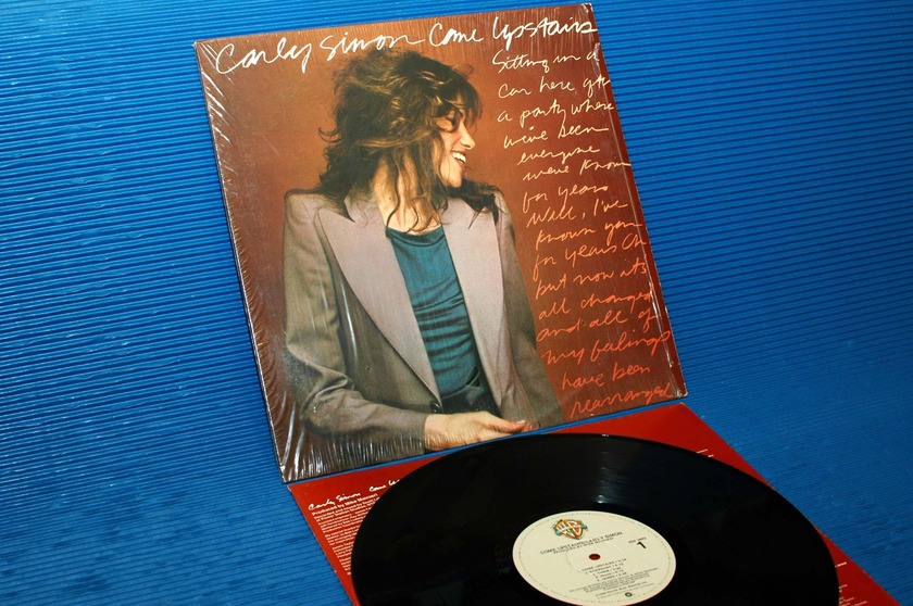 """CARLY SIMON -  - """"Come Upstairs"""" -  Warner Bros. 1980 1st pressing mastered by R Ludwig"""