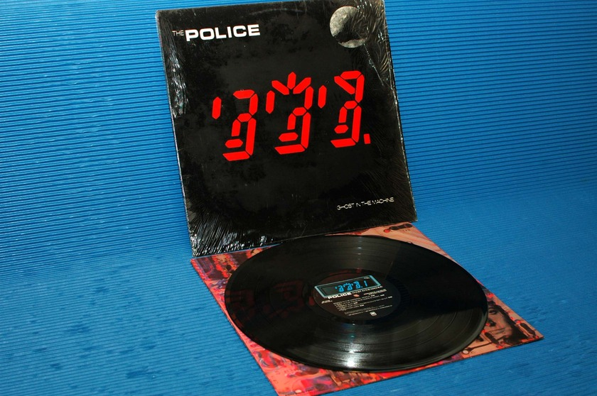 "THE POLICE - - ""Ghost in the Machine"" -  A&M Records 1981 hot stamper"