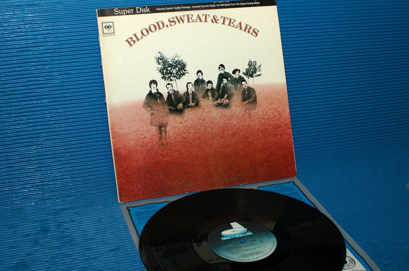 "BLOOD, SWEAT & TEARS -  - ""Self Titled"" - Direct Disk Labs 1981"
