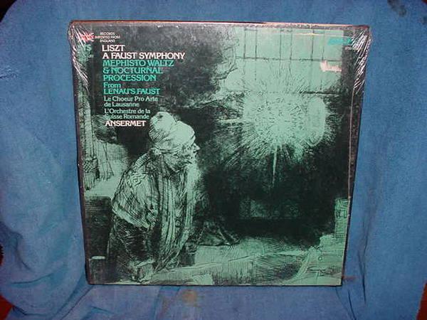 Ansermet / Liszt - A Fuast Symphony london sts-15296/7(2)