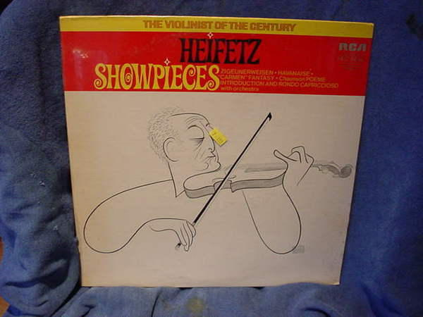 Heifetz - Showpieces rca red seal lp lsc-3232(e)