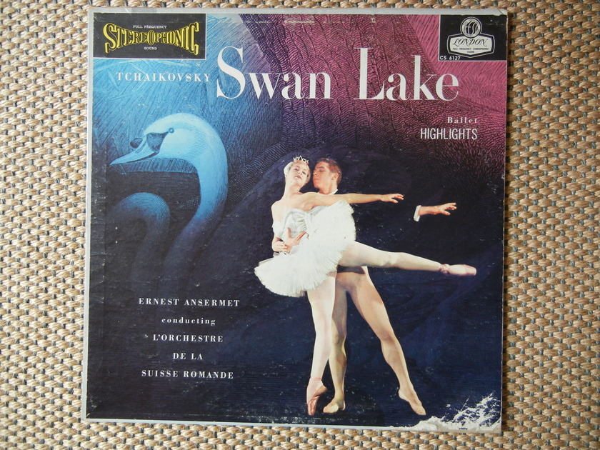 Tchaikovsky - Swan Lake Highlights London FFSS CS 6127 Blue Back