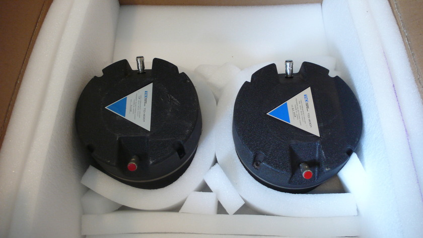 TAD 4001 horn drivers with Radian 1292 diaphragms