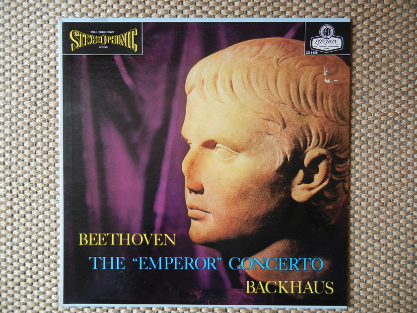 "Beethoven - The ""Emperor"" Concerto London FFSS CS 6156 Blue Back"