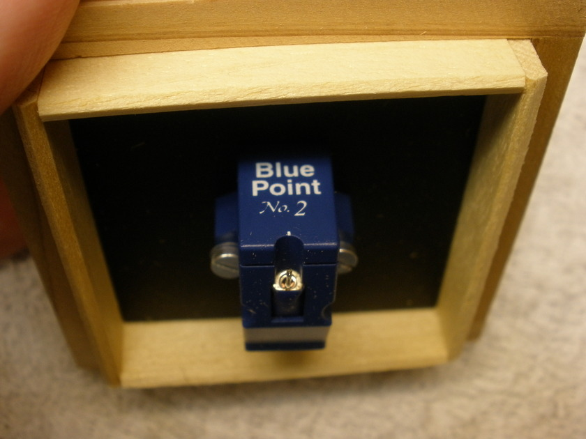 SUMIKO Blue Point No. 2  high output Moving Coil