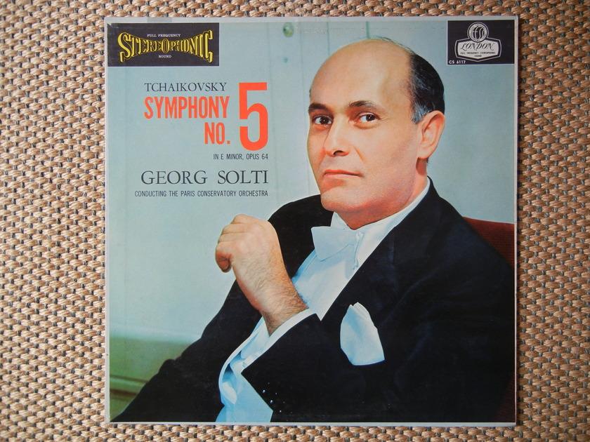 Tchaikovsky Symphony No. 5 London FFSS CS 6117 Blue Back