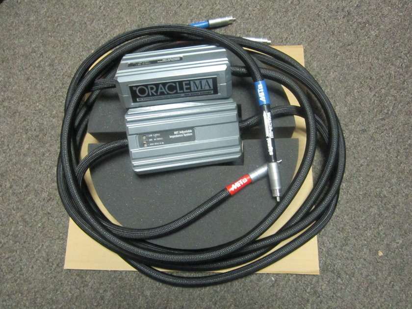 MIT Oracle MA 3 meter pair with RCA's