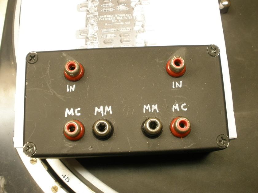 HAGERMAN  iRIAA Inverse Filter for Phono   Break-In