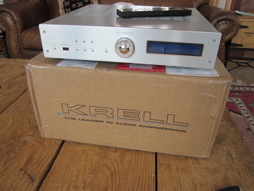 Krell S-300i Silver