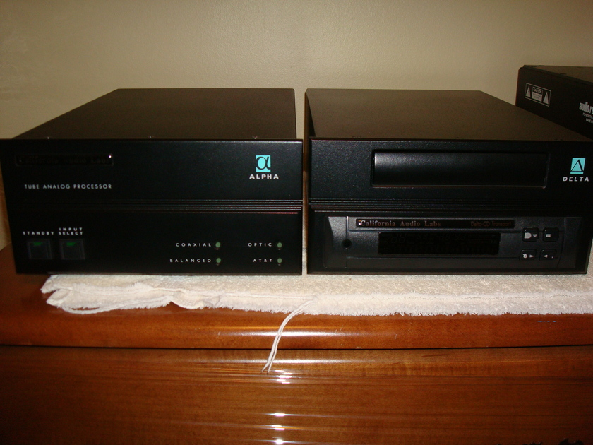 California Audio Labs Alpha Perfect condition, barely used