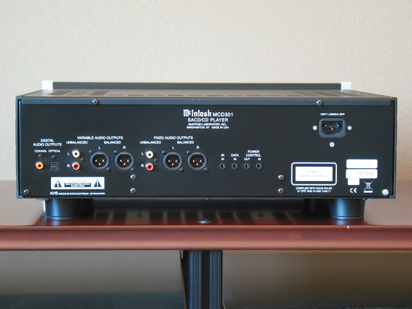 McIntosh MCD301  Mint condition one owner. Priced to sell quickly