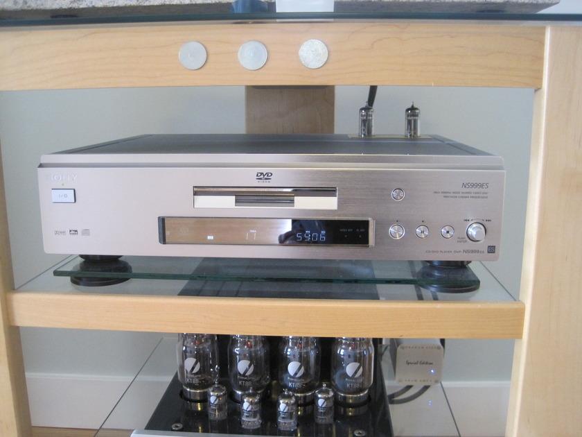 Modwright Sony DVP-NS999ES Signature + Mod w/ tube power supply