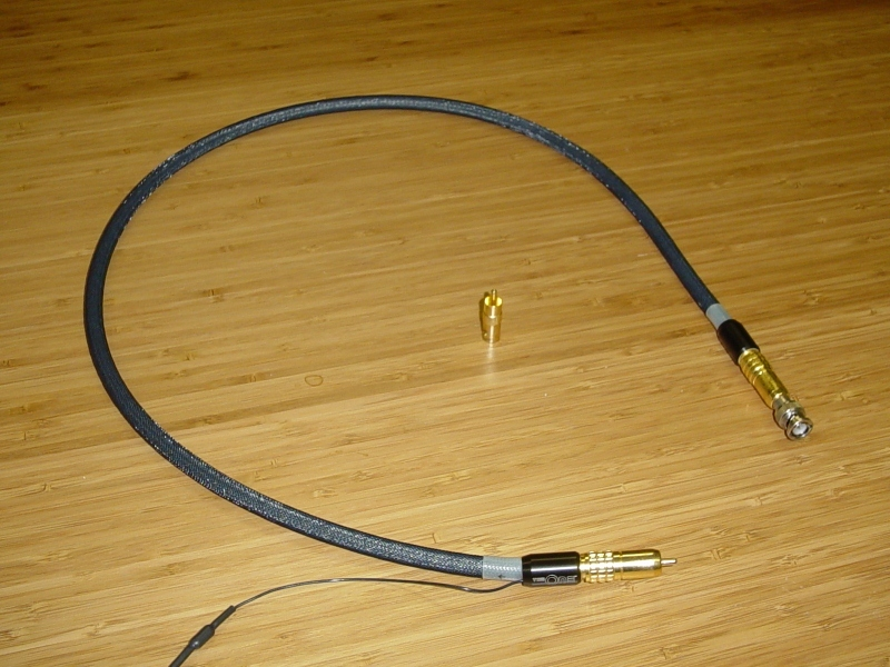 Tara Labs RCA to BCN Digital Cable The One Digital Cable w/ISM Ground Station