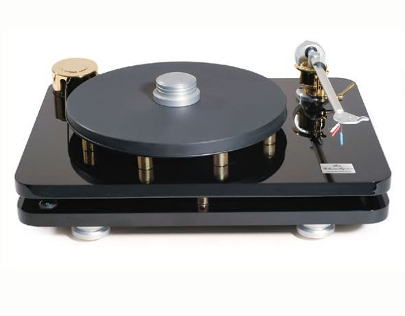 Bluenote Bellavista Signature Turntable with Borghese tonearm and blue note MM cartridge