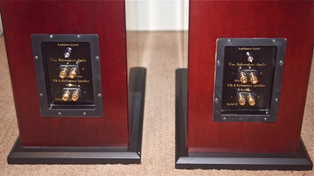 VON SCHWEIKERT AUDIO VR-5 HSE FULL-RANGE SPEAKERS