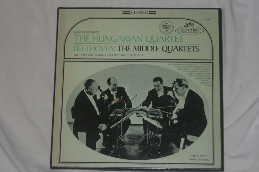 The Hungarian Quartet - Beethoven: The Middle Quartets Stereo IC-6006