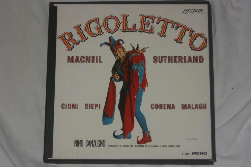 Nino Sanzogno - Rigoletto London A 4360