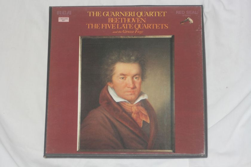 The Guarneri Quartet - Beethoven: The Five Late Quartets and the Grosse Fuge Red Seal Stereo RCA VCS-6418
