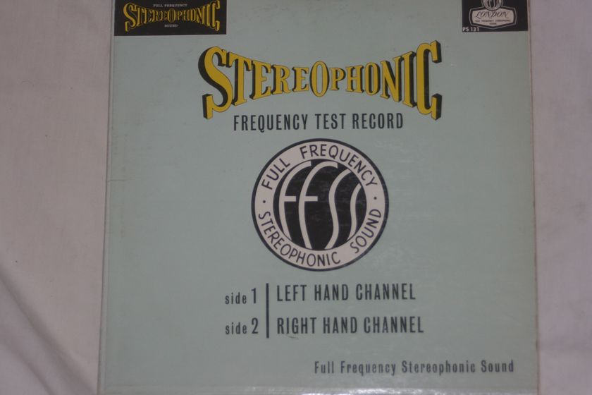 Stereophonic - Frequency Test Record London Blueback PS 131