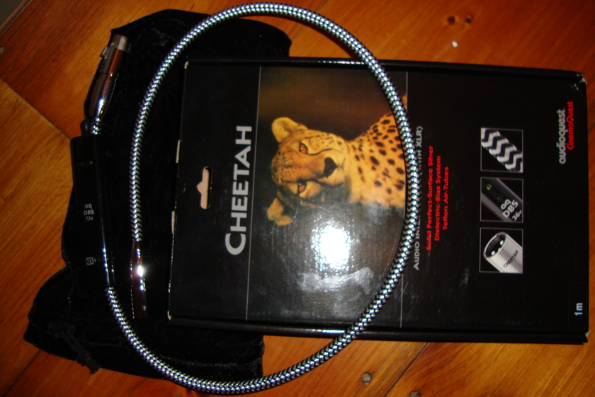 Audioquest Cheetah 1 meter xlr single
