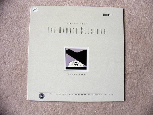 Oxnard Sessions Vol - 1 - Mike Garson, NM reference recordings lp, rr-37