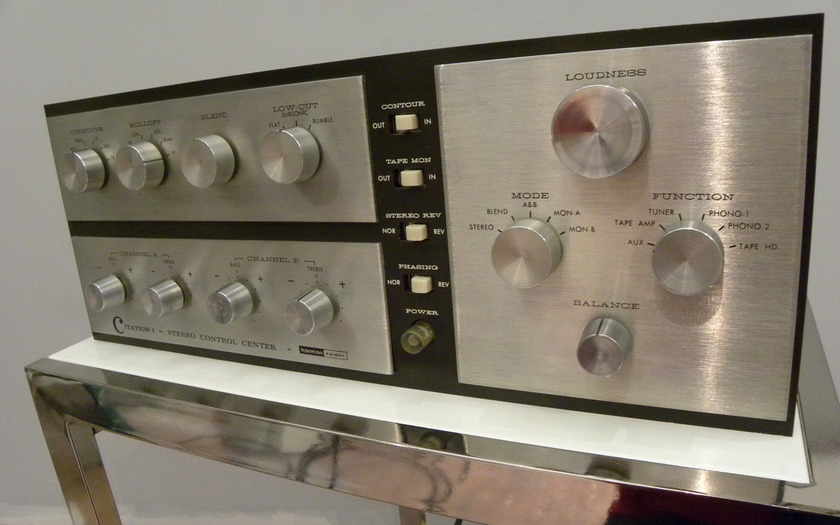 Harmon Kardon Citation I Tube Pre-amp Citation I