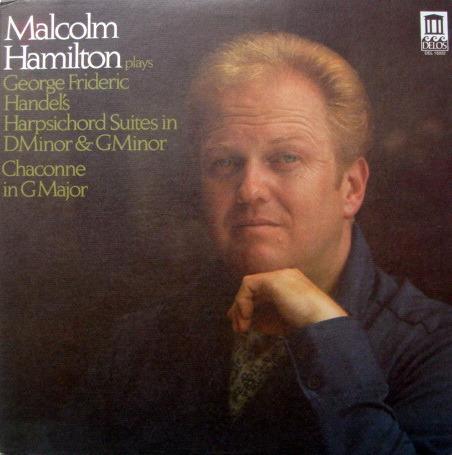 ★Audiophile★ Delos / HAMILTON, - Handel Suites & Chaconne, MINT!
