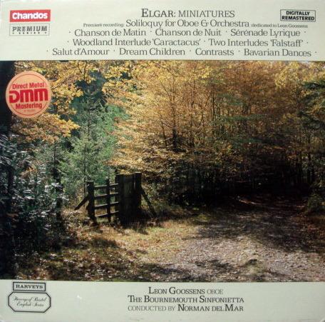 ★Audiophile★ Chandos / GOOSSENS-MAR, - Elgar Miniatures, MINT!