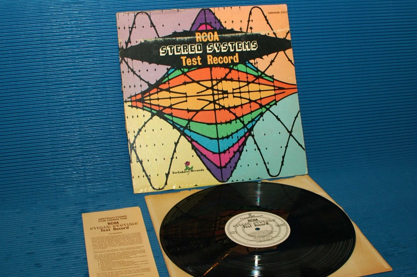 """RCOA STEREO SYSTEMS -  - """"Test Record"""" -  Yorkshire Records 1957"""