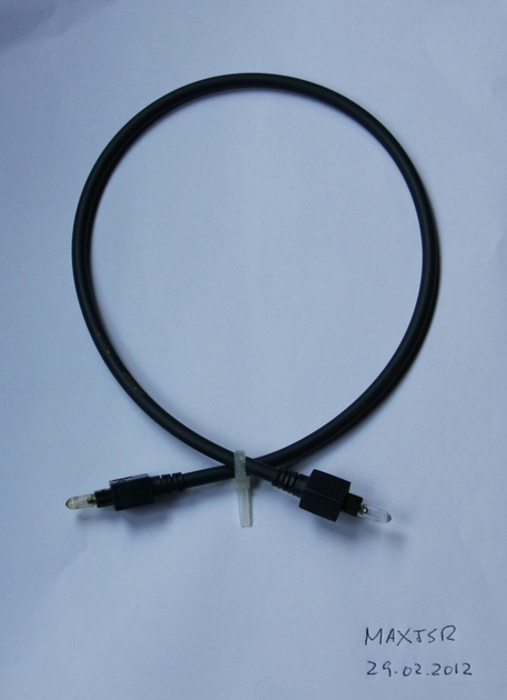 AUDIOQUEST OPTILINK Z TOSLINK DIGITAL CABLE 0.5 Meter (New Old Stock)