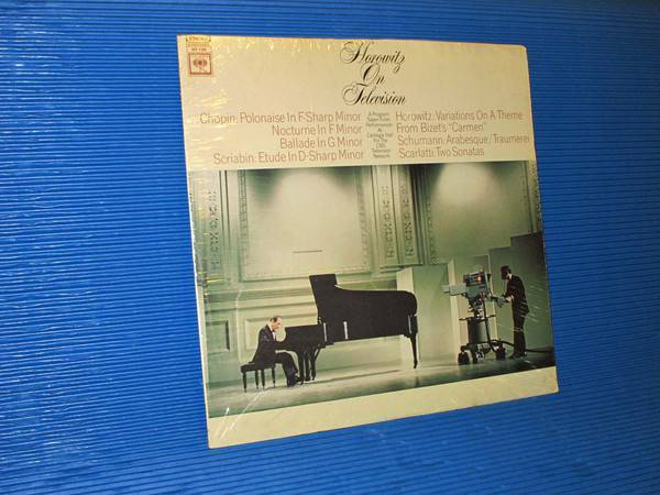 "HOROWITZ -  - ""Horowitz On Television"" -  Columbia Masterworks 1968 Sealed"