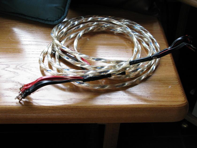 Alpha-Core (Goertz) Python AG2 10ft biwire Serpent Series - Silver