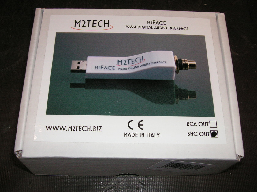 M2Tech USB Adapter HiFace BNC 2011 NEW IN BOX