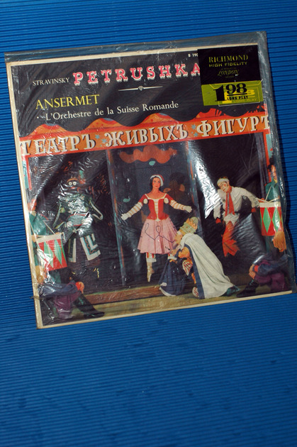 "STRAVINSKY/Ansermet -  - ""Petrushka"" -  Richmond/London 1950""s"
