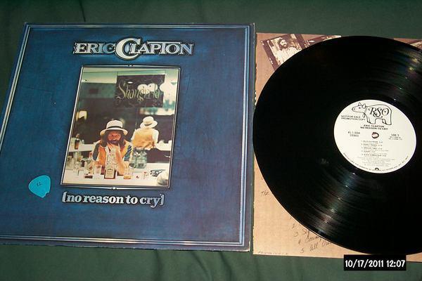 Eric Clapton - No Reason To Cry white label promo lp nm