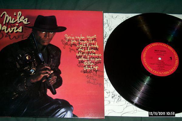 Miles davis - You're Under Arrest LP NM