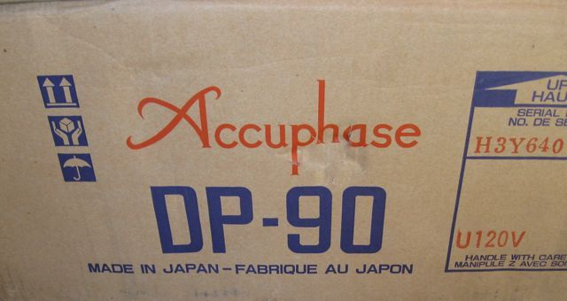 Accuphase DP-90 Precision CD Player