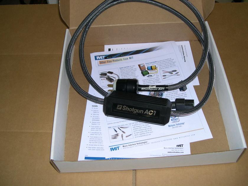 MIT Shotgun AC1 UPGRADE pwr cable, DEMO HALF-PRICE, wrnty