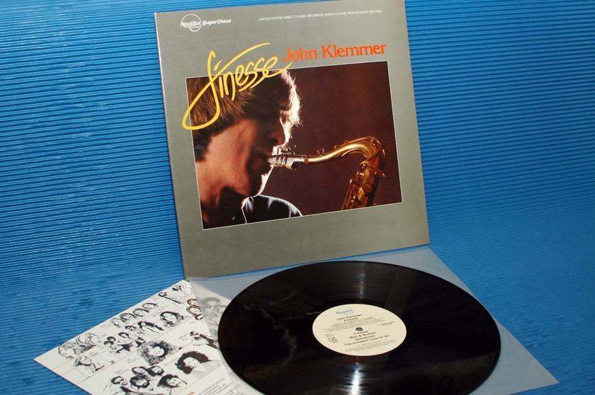 """JOHN KLEMMER -  - """"Finesse"""" -  Nautilus Super Discs 1981 D-D"""