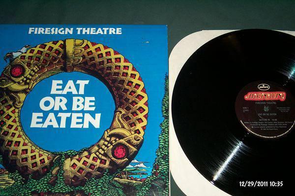 Firesign Theatre - Eat Or Be Eaten promo lp nm