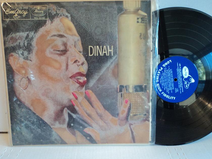 Dinah Washington  - Dinah! Mono Blue Label 195? EmArcy Mercury MG 36065