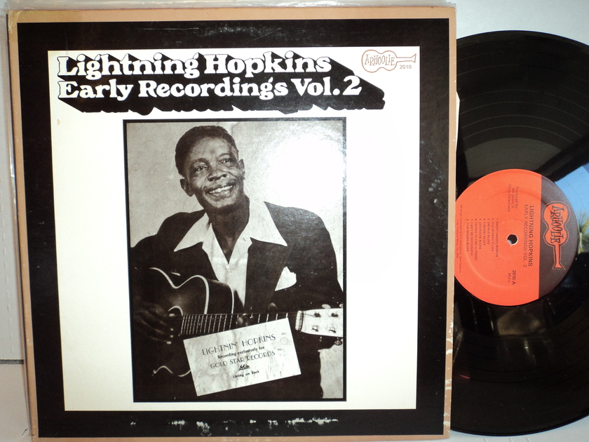 Lightning Hopkins - Early Recordings vol. 2 1974 Arhoolie mono NM