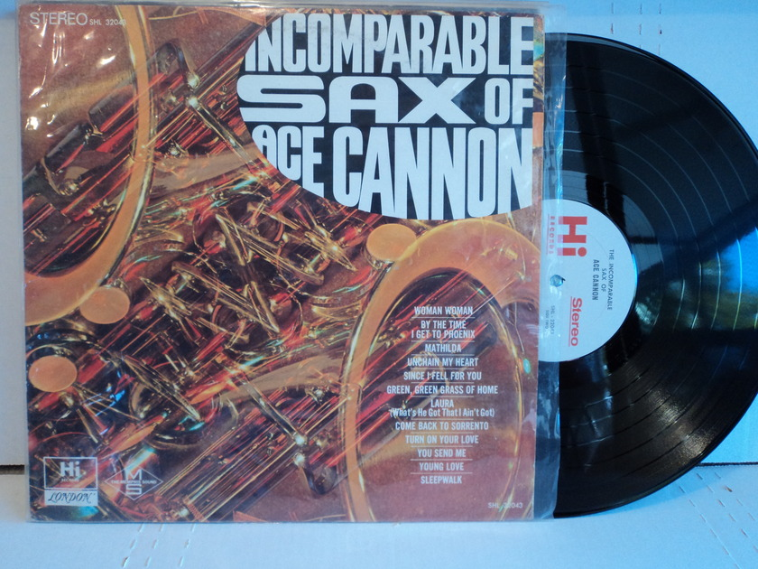 Ace Cannon  - The Incomparable Sax of Ace Cannon Hi Records NM-