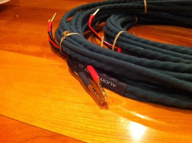Auditorium 23  speaker cable